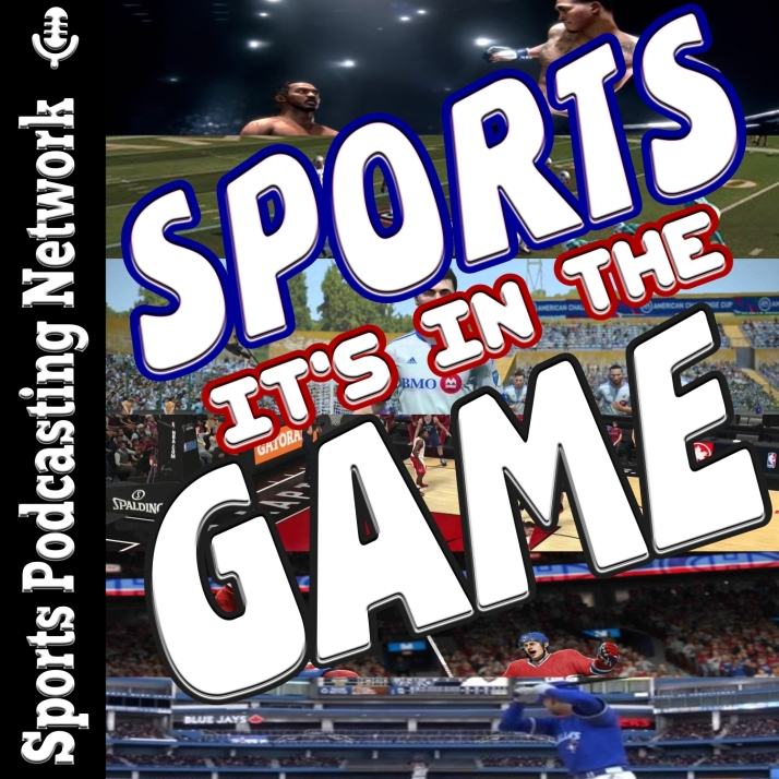 Sports,it's in the game logo
