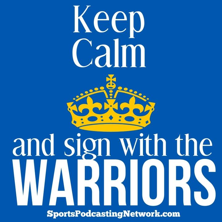 warriors keep calm