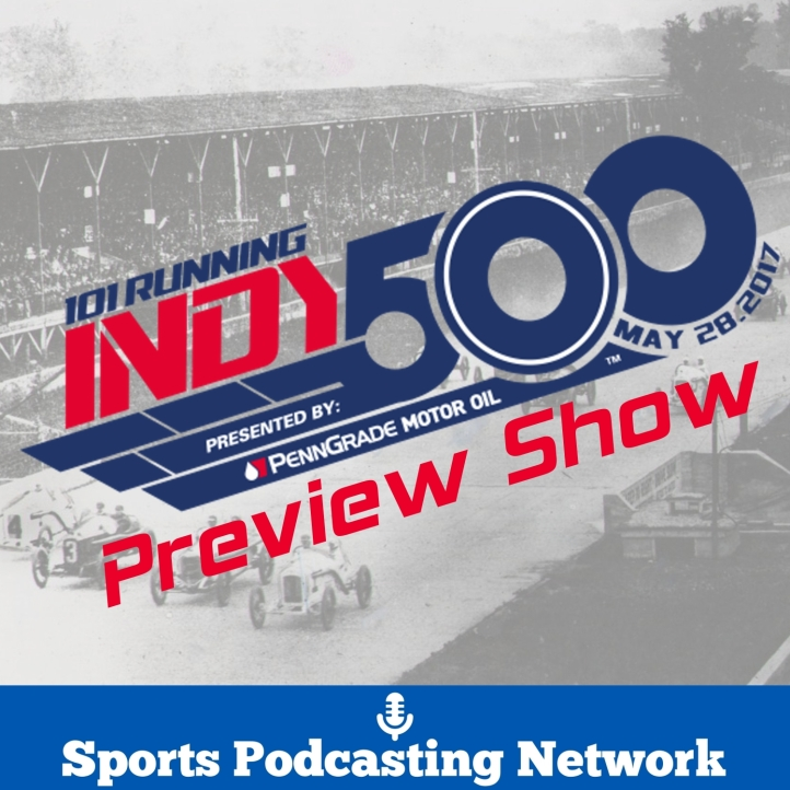 Indy 500 preview show logo