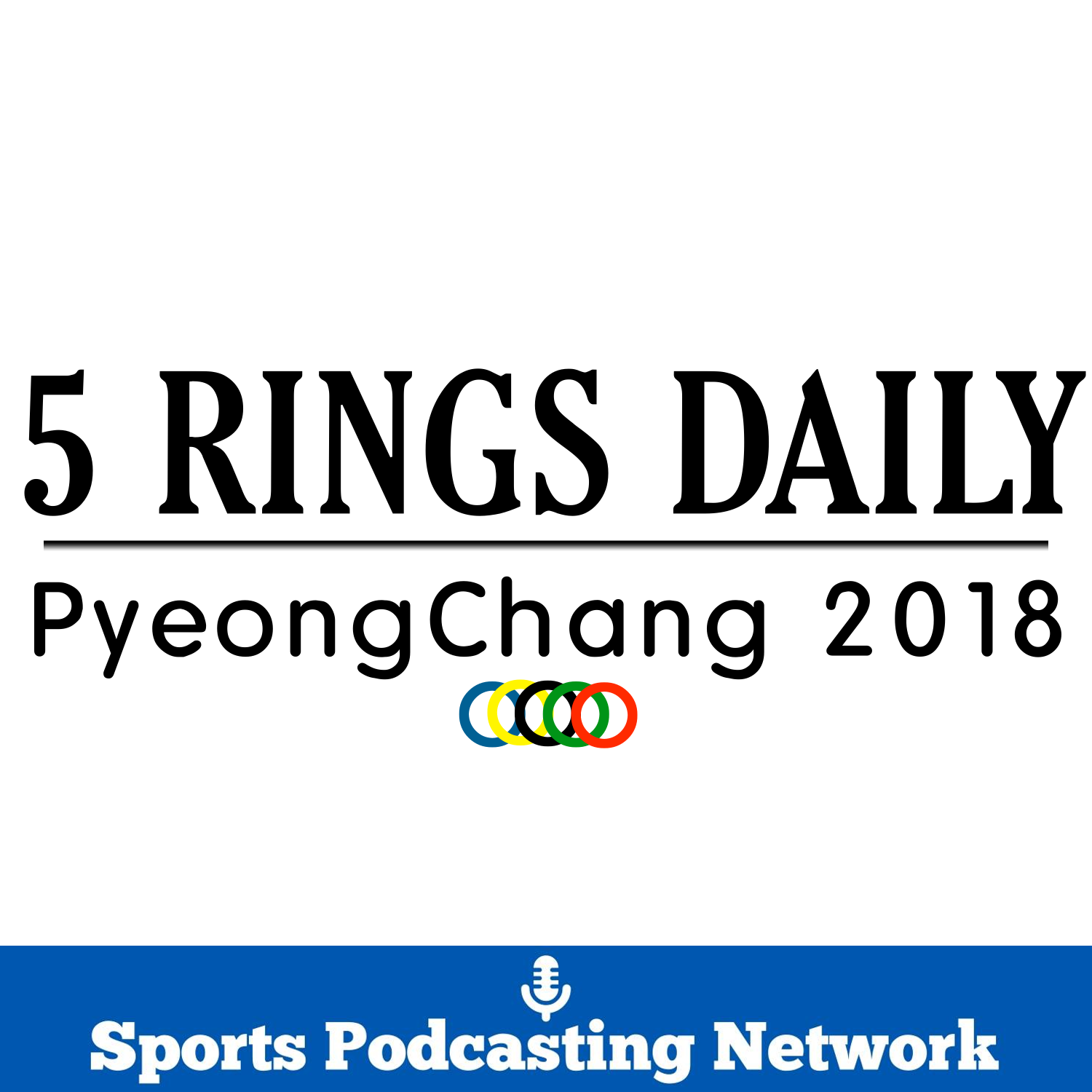 5 Rings Podcast – Sports Podcasting Network