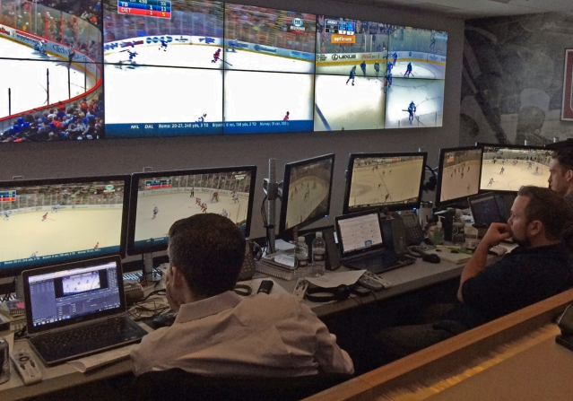 nhl video room
